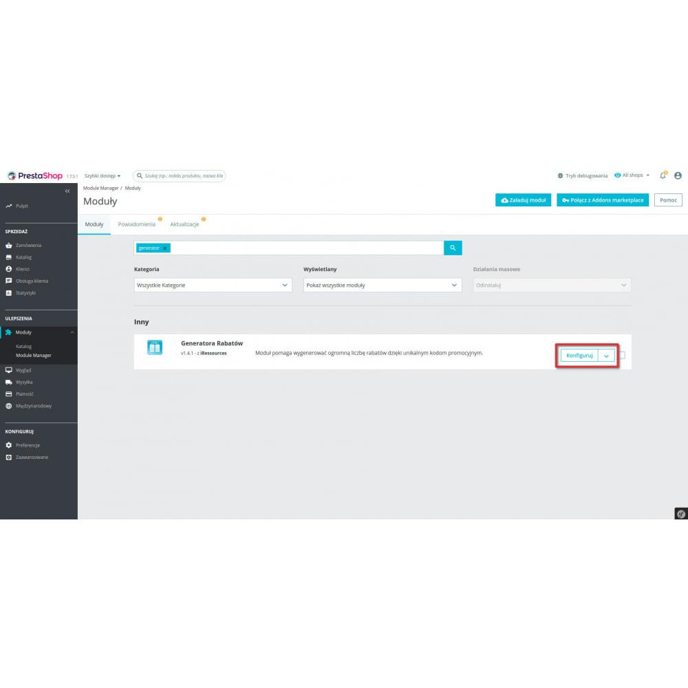 module - Promocje & Prezenty - Generator Rabatów - 4