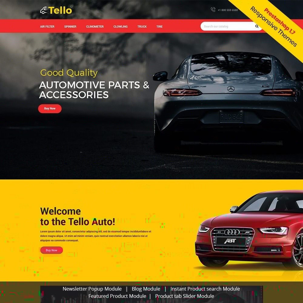 theme - Autos & Motorräder - Tello Auto - Auto schwarz dunkel - 2