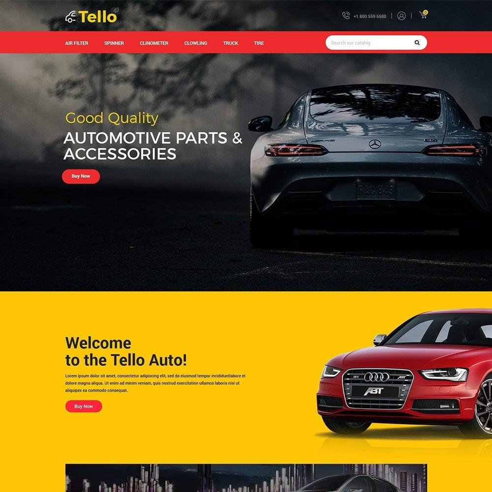 theme - Autos & Motorräder - Tello Auto - Auto schwarz dunkel - 3