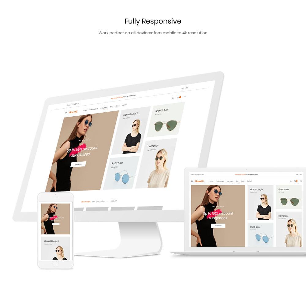 theme - Fashion & Shoes - Garrett - Glasses, Fashion & Accessories Store - 1