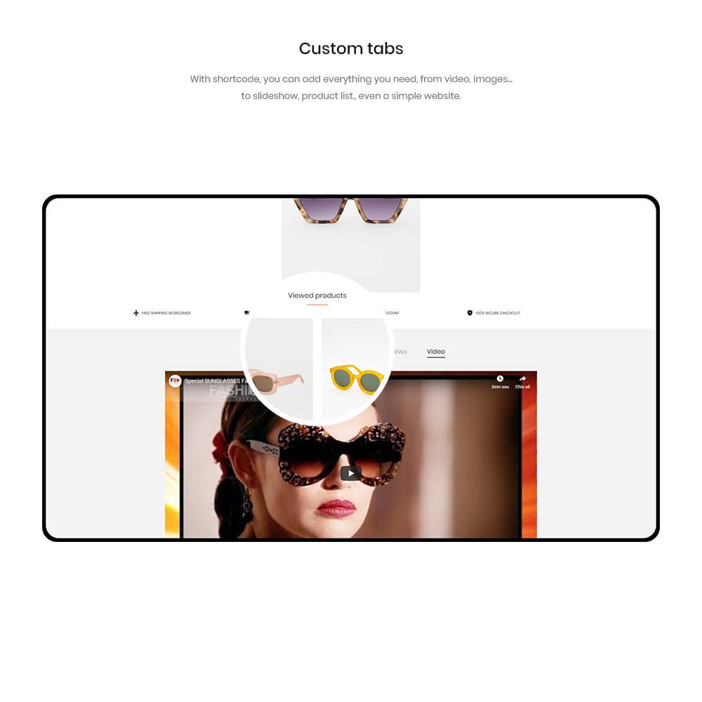 theme - Fashion & Shoes - Garrett - Glasses, Fashion & Accessories Store - 3
