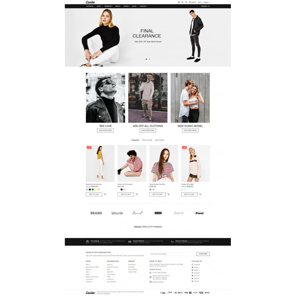 theme - Moda & Calzature - Casita - Unique Fashion Theme - 9