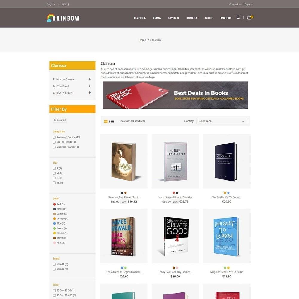 theme - Art & Culture - Rainbow Book - Ebook Store - 4