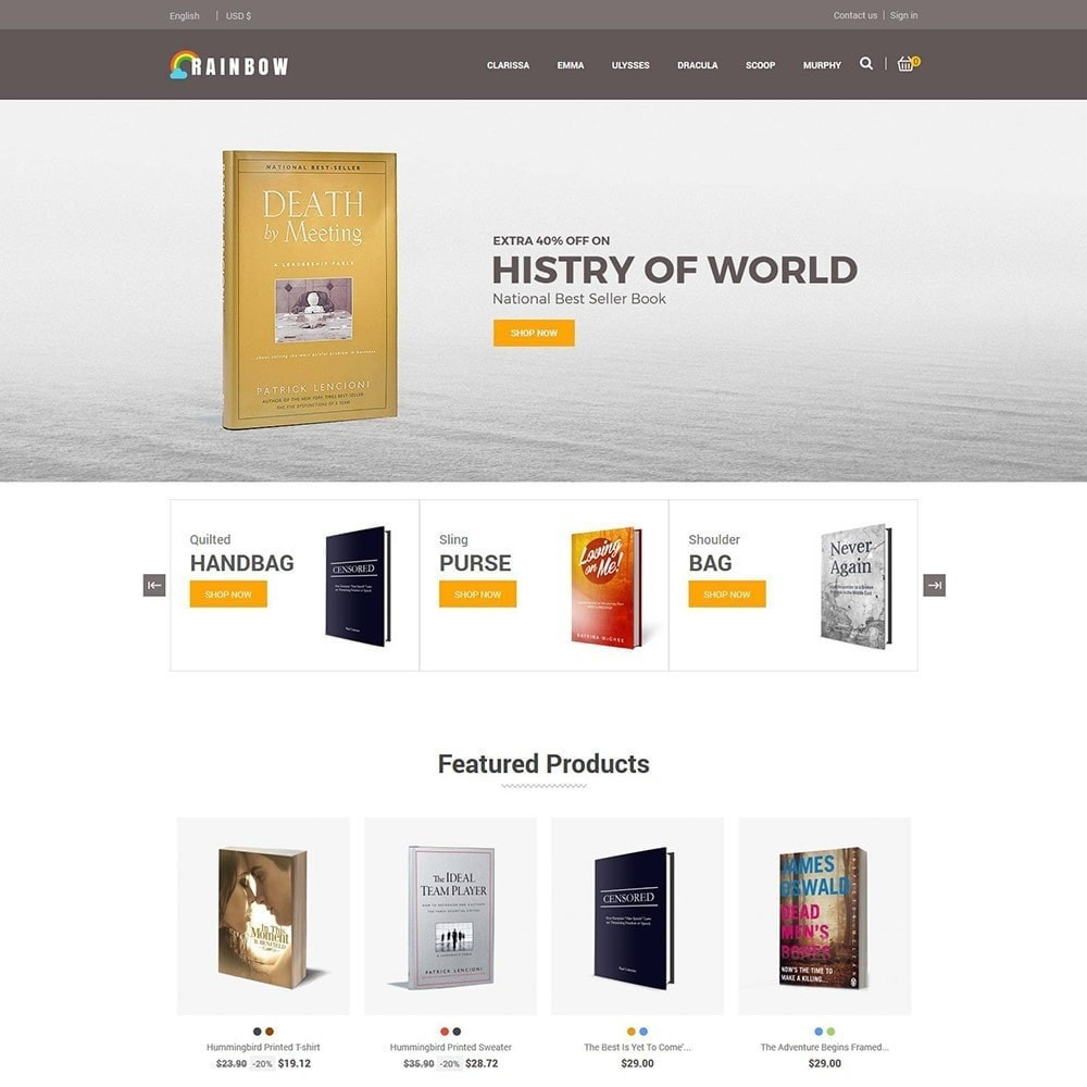 theme - Kunst & Cultuur - Rainbow Book - Ebook Store - 3