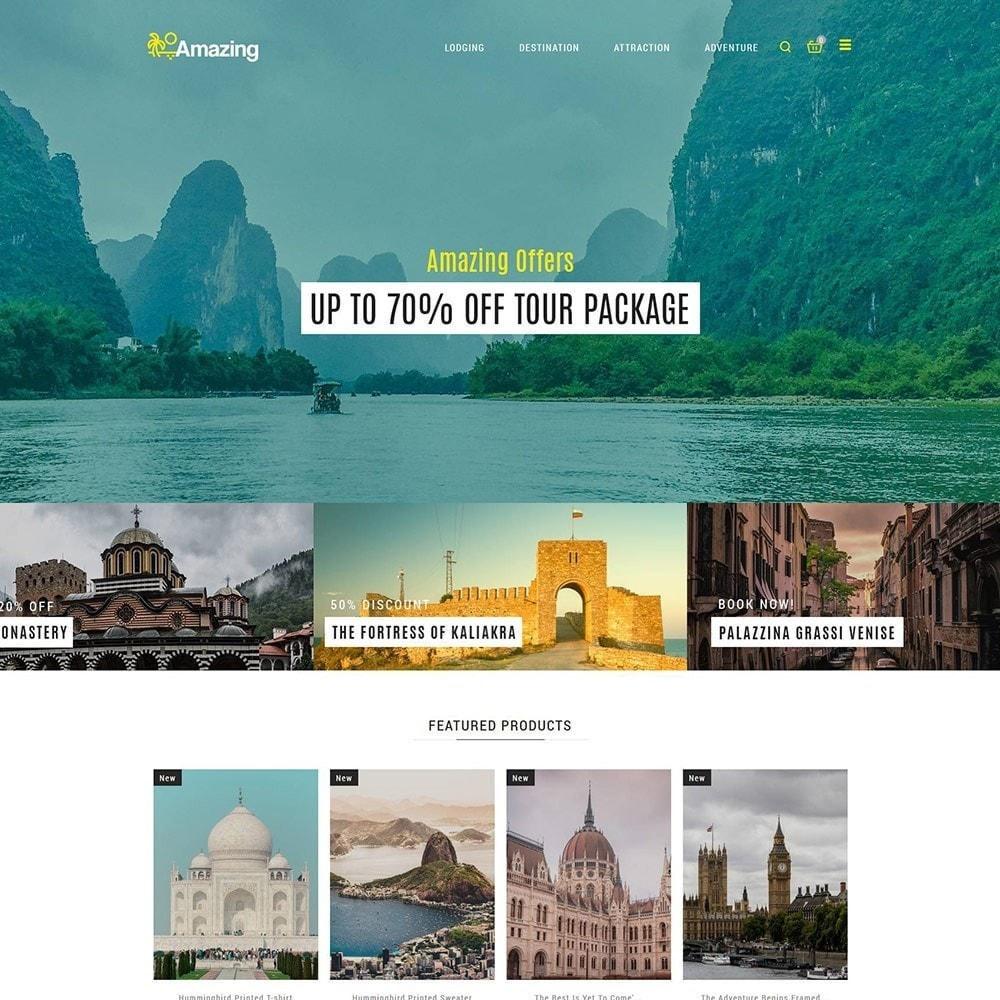 theme - Desporto, Actividades & Viagens - Amazing Travel - Loja de ingressos de Tours - 3