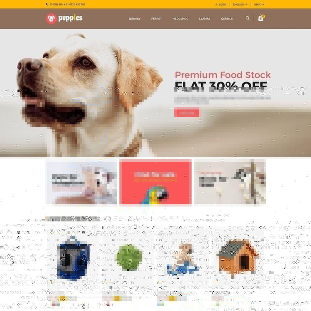 theme - Dieren - Puppy Pet - Cat dierenwinkel - 3