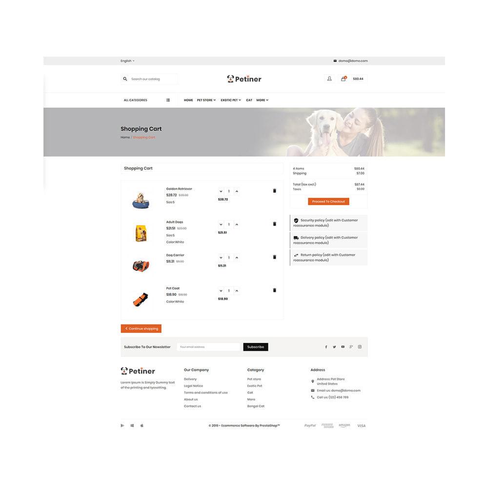 theme - Animales y Mascotas - Pets Shop – Special Animals Pets Store - 5