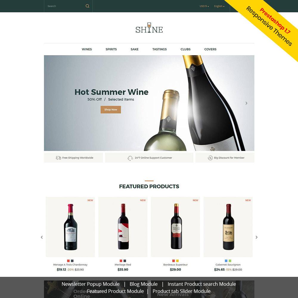 theme - Bebidas y Tabaco - Shine Wine - Tienda de alcohol - 2