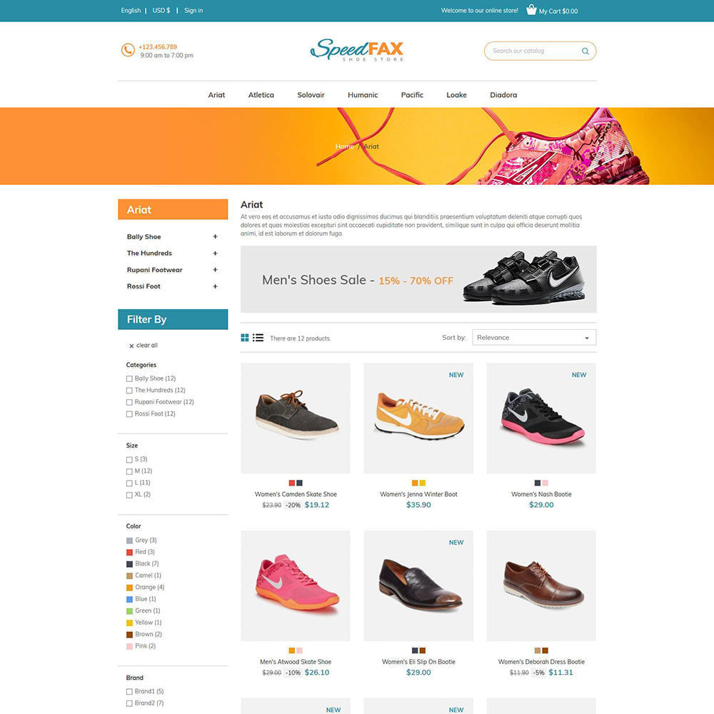 theme - Mode & Chaussures - Chaussures de fax rapide - Boot Store - 3