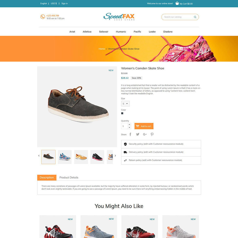 theme - Mode & Chaussures - Chaussures de fax rapide - Boot Store - 6