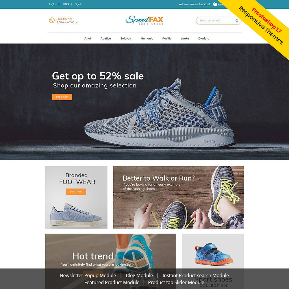 theme - Mode & Schoenen - Speed Fax Shoes - Boot Store - 2