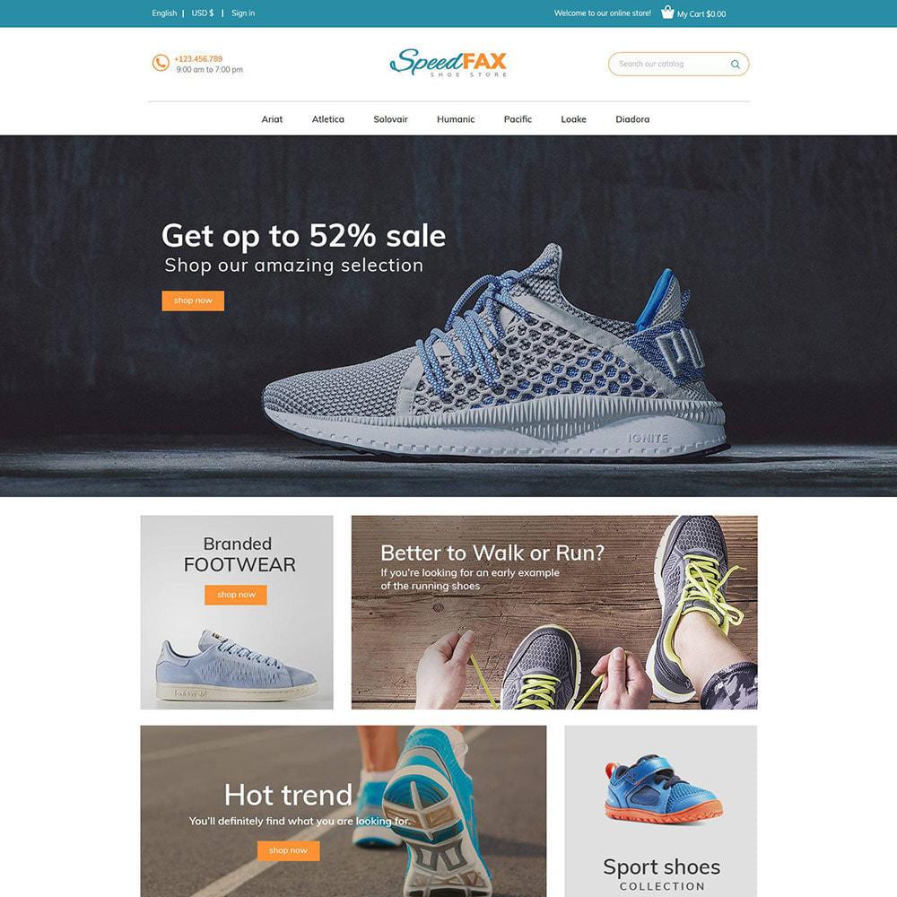 theme - Moda & Calçados - Sapatos de fax rápidos - Loja de botas - 4