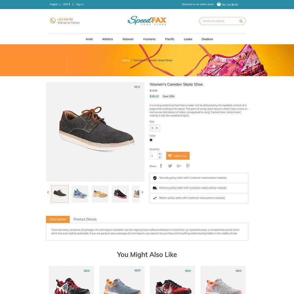 theme - Moda & Calçados - Sapatos de fax rápidos - Loja de botas - 6