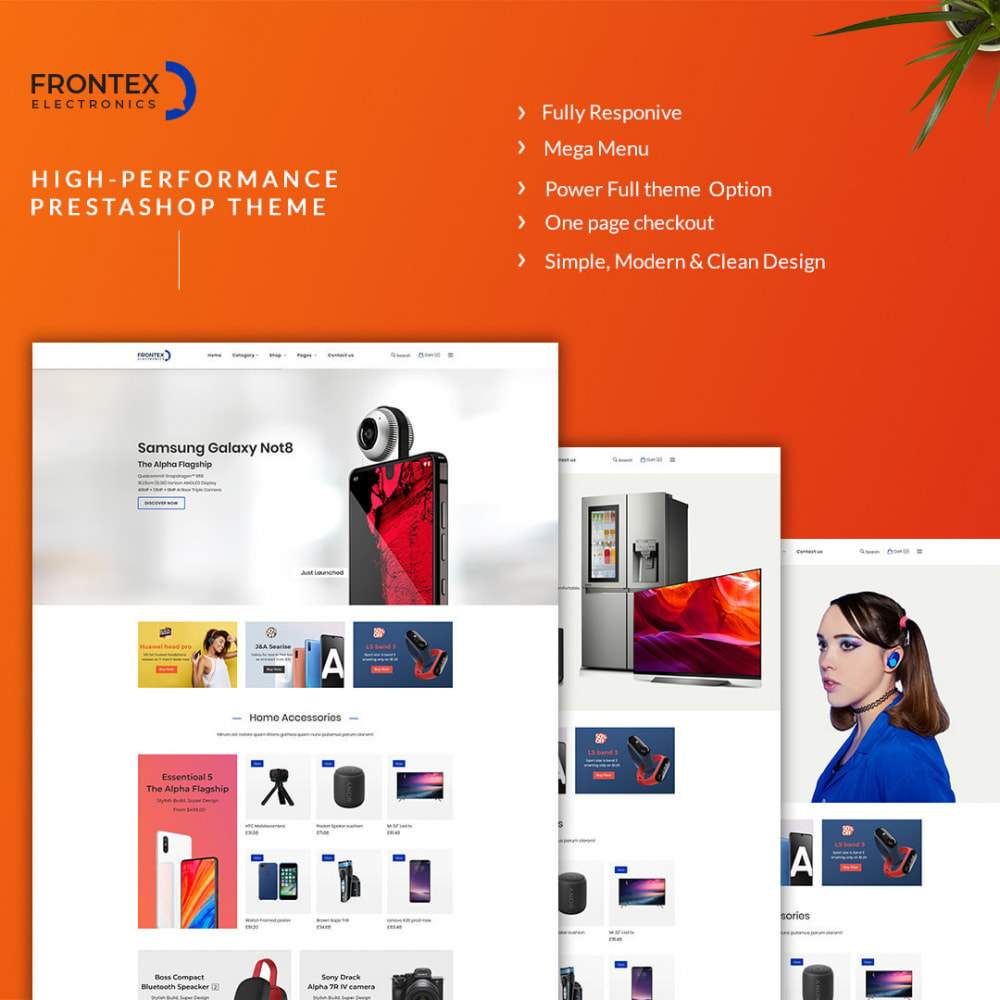 theme - Electronics & Computers - Frontex- The Mobile eCommerce Store - 1