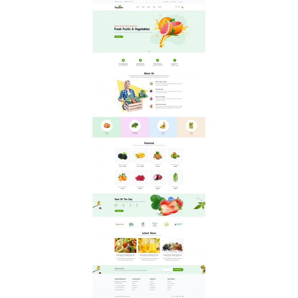 theme - Продовольствие и рестораны - Organic - 9