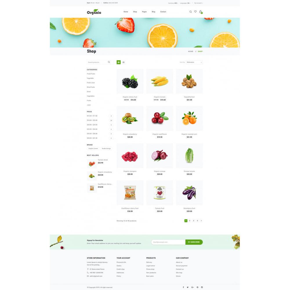 theme - Продовольствие и рестораны - Organic - 10