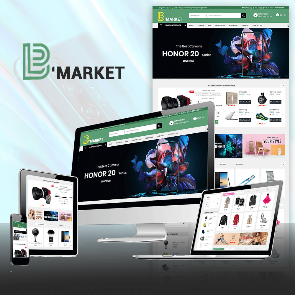 theme - Elektronika & High Tech - B Market Online Store - 1