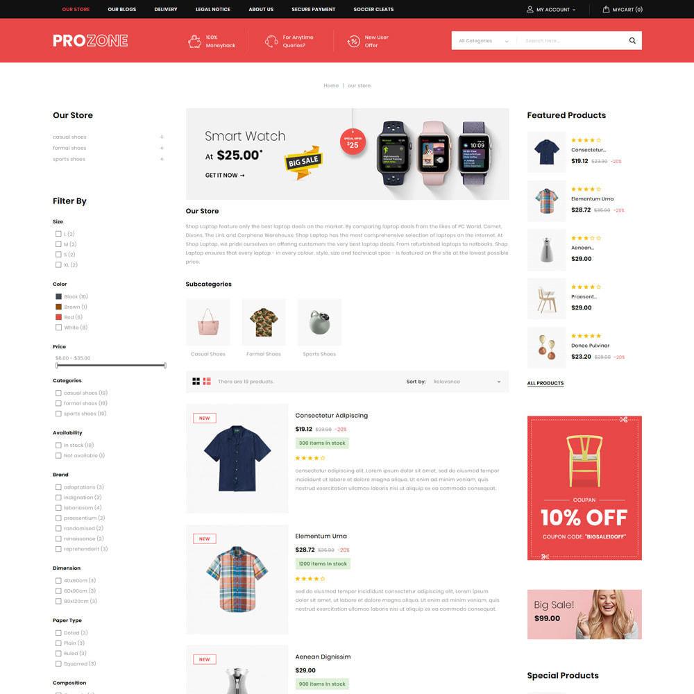theme - Mode & Schuhe - Prozone - The Fashion Store - 6