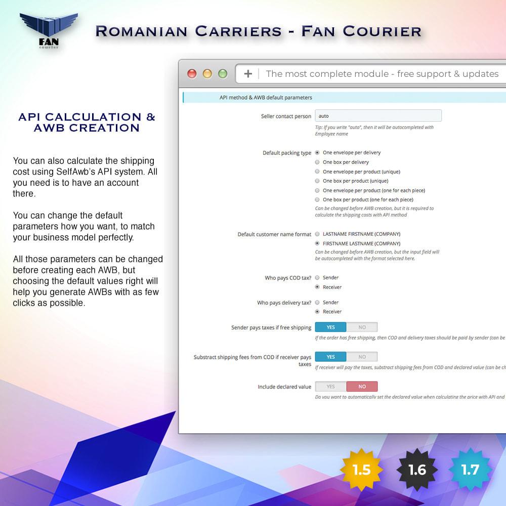 module - Shipping Carriers - Romanian Carriers - Fan Courier - 3