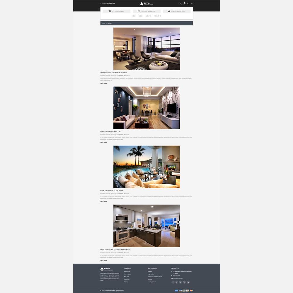 theme - Home & Garden - Furniture -  Responsive Store - 5
