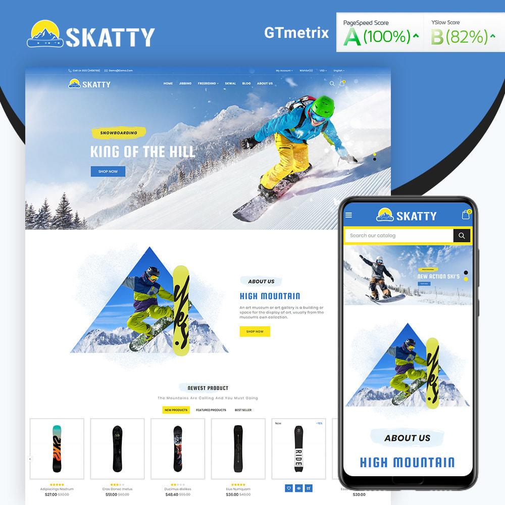 theme - Sport, Activiteiten & Reizen - Skatty Skateboard Sport Store - 1