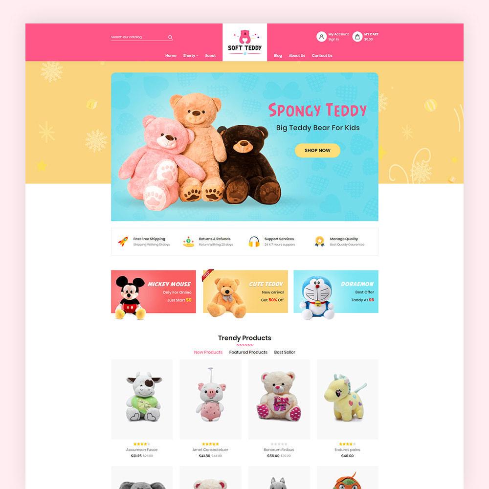theme - Niños y Juguetes - Softteddy Teddy Shop - 2