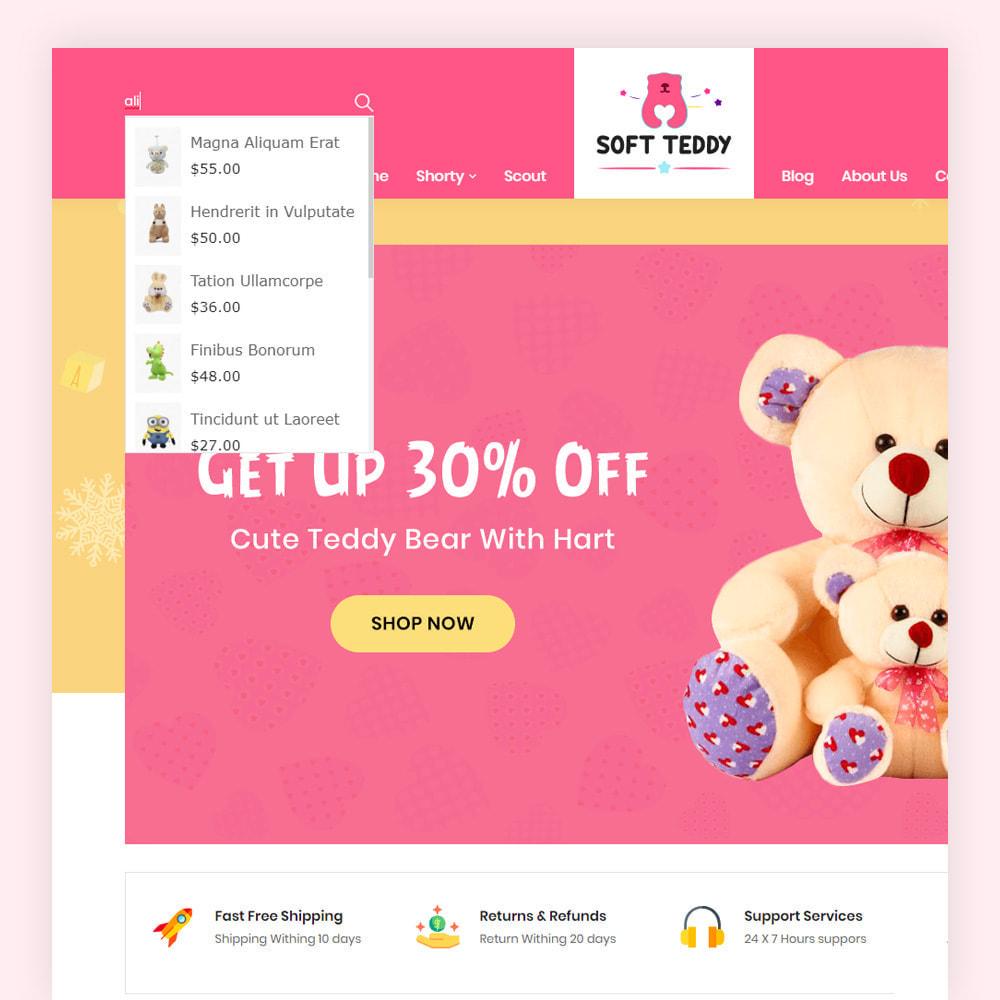 theme - Niños y Juguetes - Softteddy Teddy Shop - 3