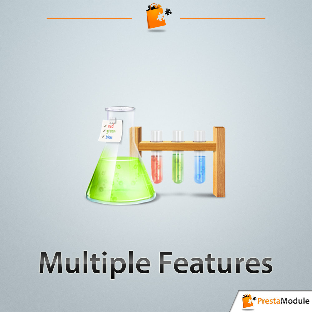 module - Zoeken & Filteren - Multiple Features - Assign your features without limit - 1