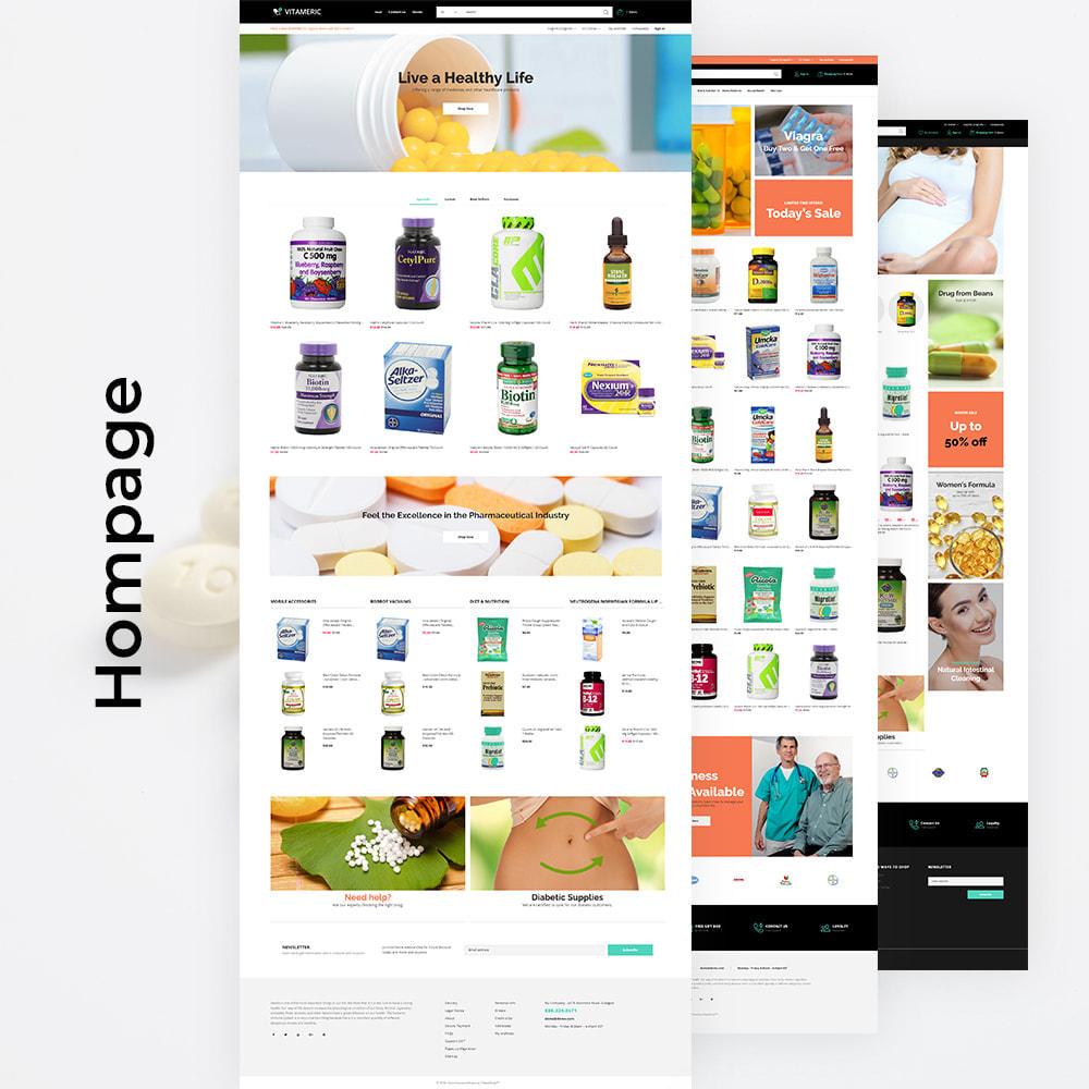 theme - Salud y Belleza - Vitameric - Medical Store - 4