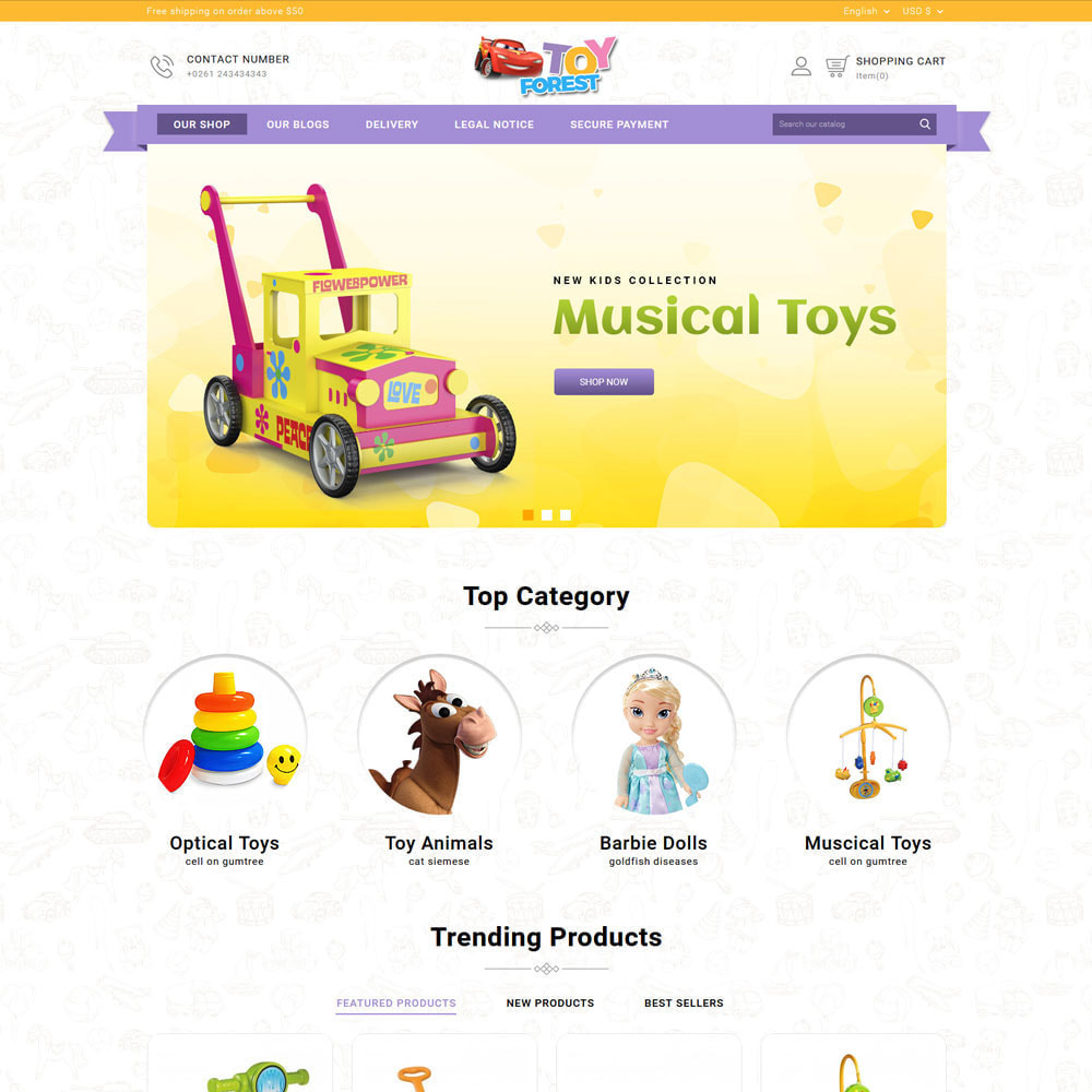 theme - Kinder & Spielzeug - ToyForest - The Kid Store - 4