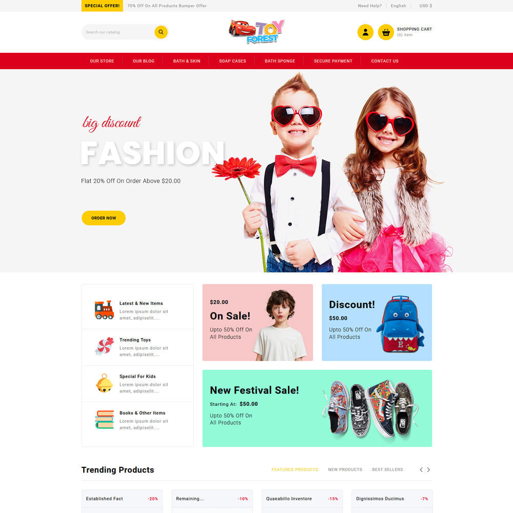 theme - Bambini & Giocattoli - ToyForest - The Kid Store - 7