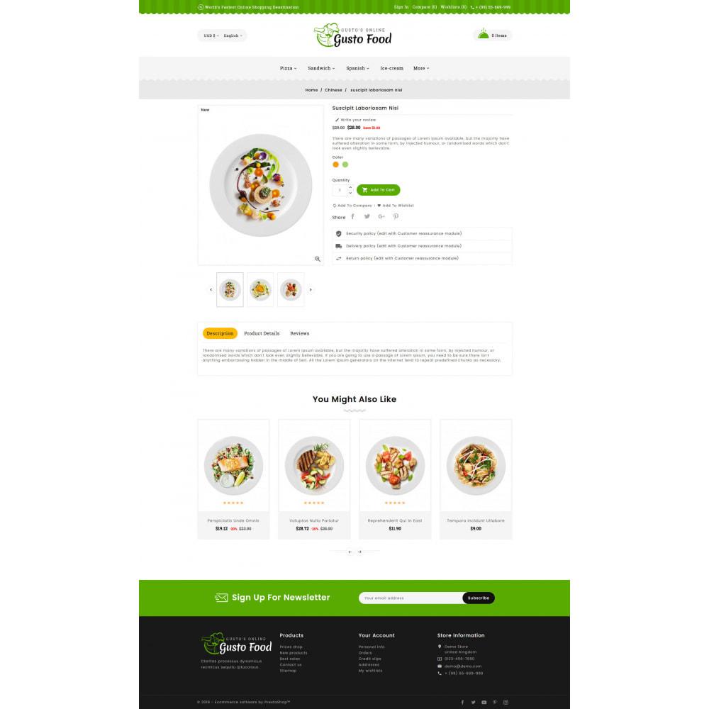 theme - Lebensmittel & Restaurants - Gusto Food - Restaurant Dishes - 5