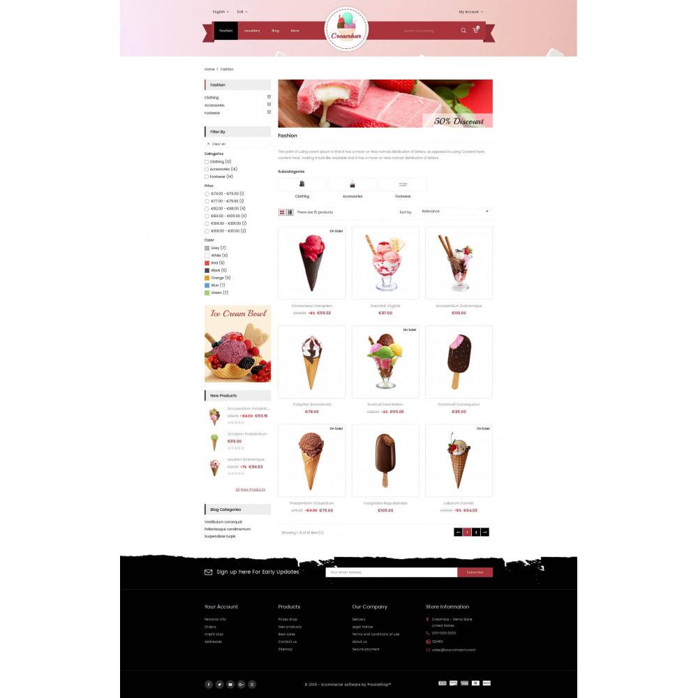 theme - Gastronomía y Restauración - Creambar - Ice Cream Store - 3