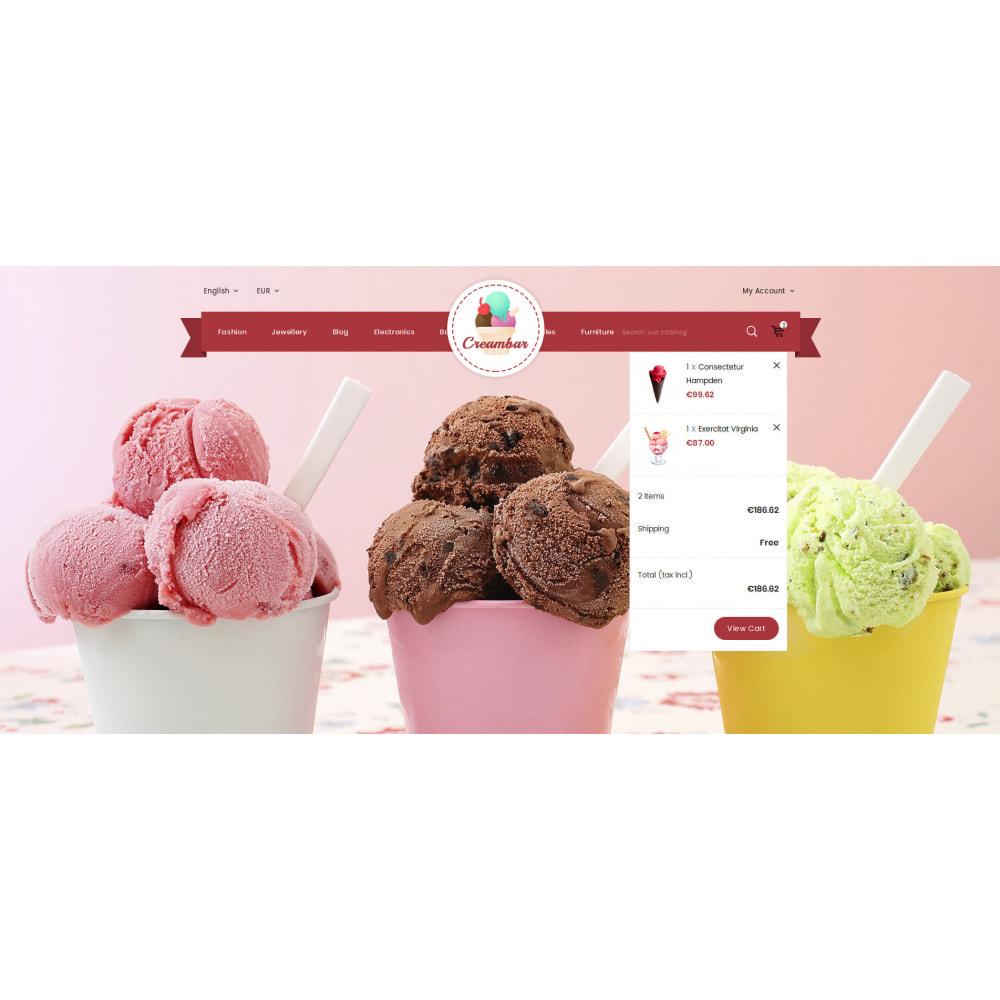 theme - Gastronomía y Restauración - Creambar - Ice Cream Store - 8