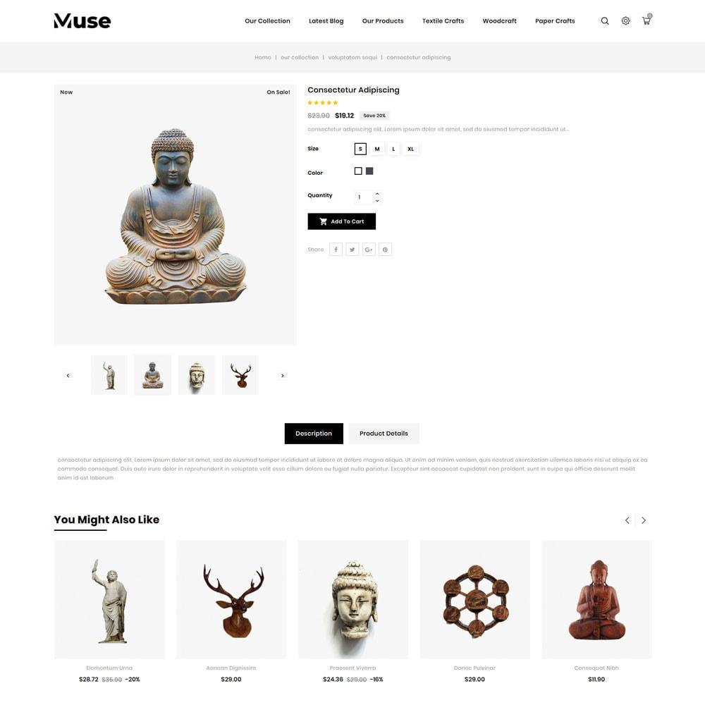 theme - Art & Culture - Muse - boutique d'art - 8
