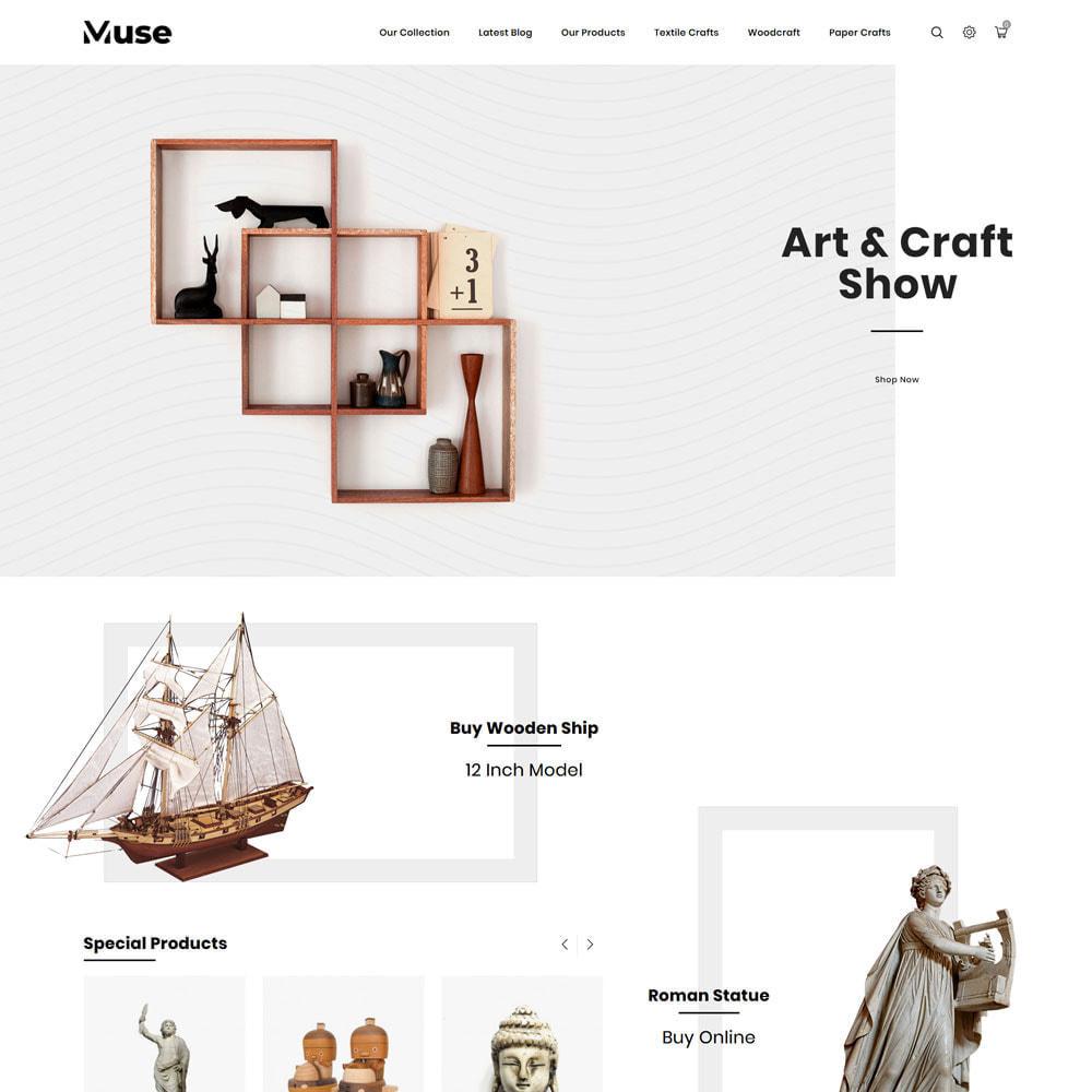 theme - Arte y Cultura - Muse - tienda de arte - 5