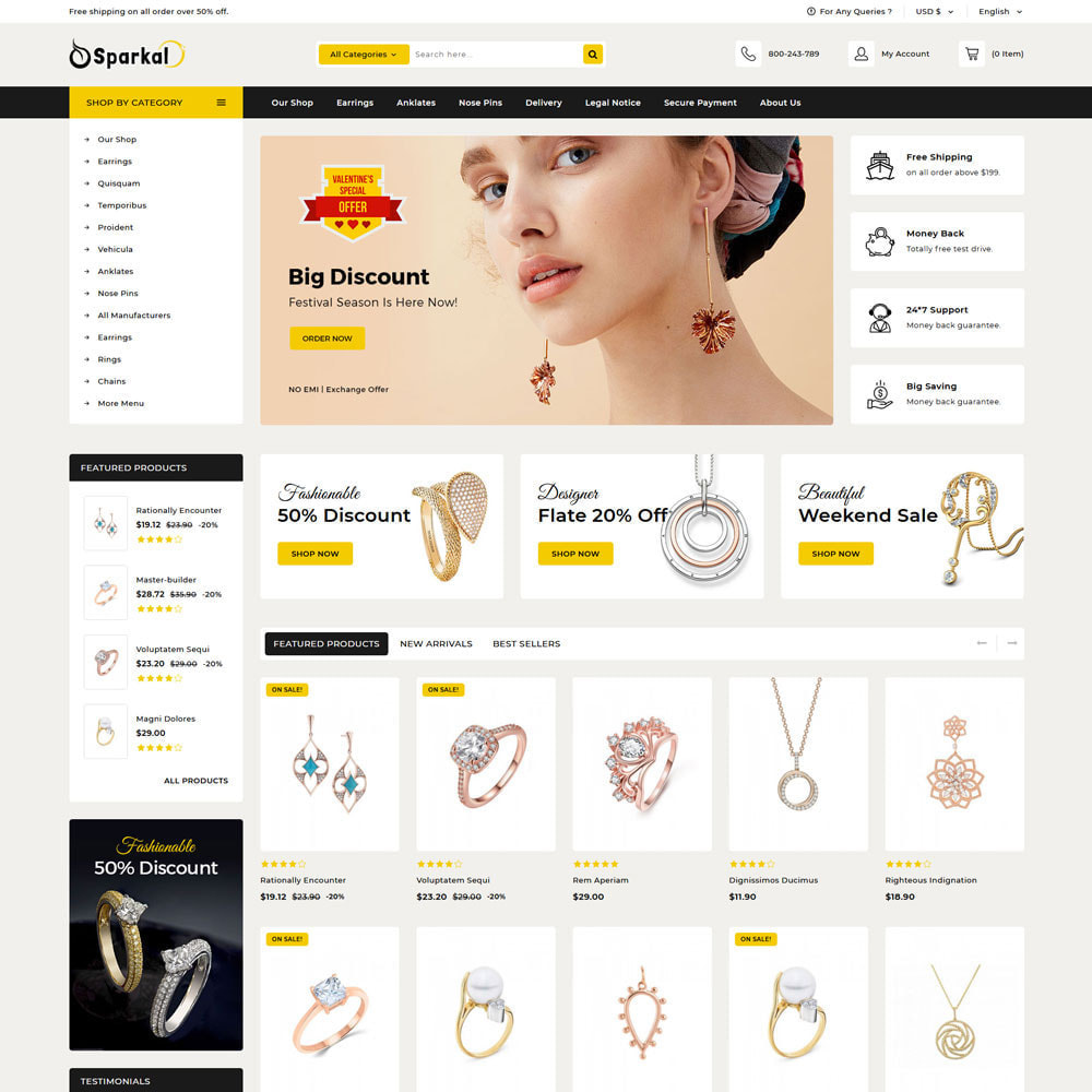 theme - Jewelry & Accessories - Sparkal - The Jewellery Shop - 5