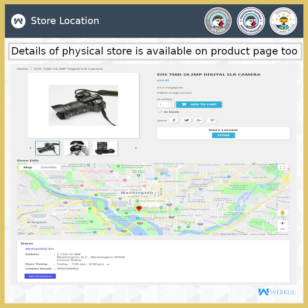 module - International & Localisation - Localisateur de magasin-Collecte de magasin,Google Map - 5