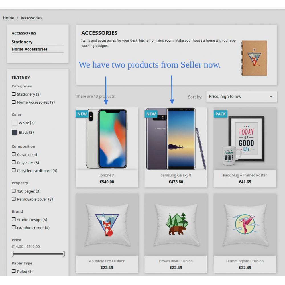 module - Marketplaces - Advanced Marketplace - Multi Vendor - 50