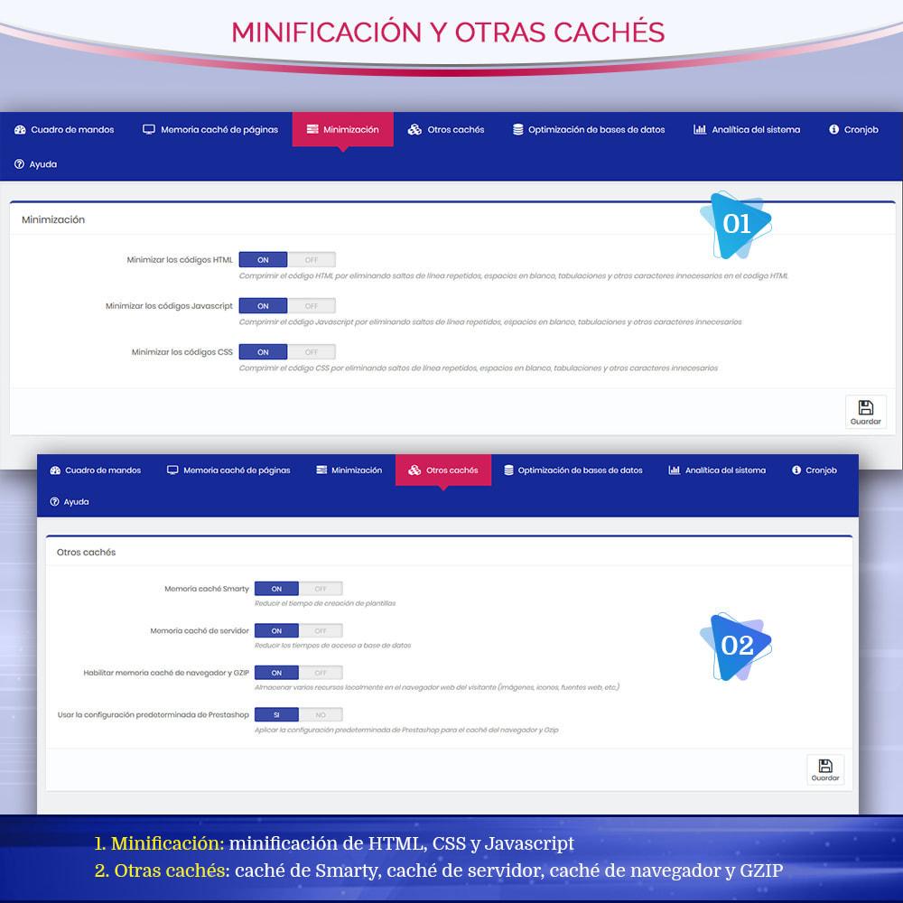 module - Rendimiento del sitio web - Page Cache Pro – Más velocidad y mejor SEO - 7