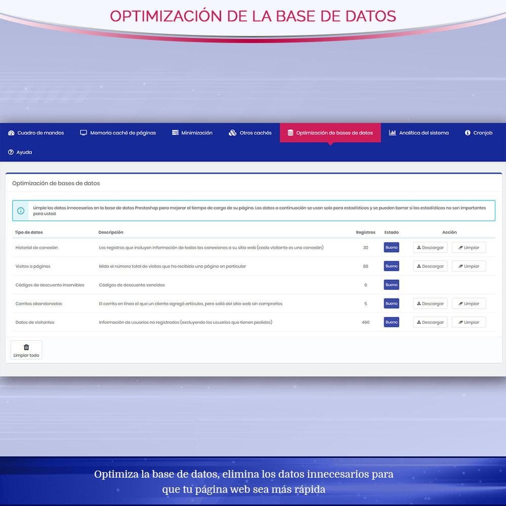 module - Rendimiento del sitio web - Page Cache Pro – Más velocidad y mejor SEO - 8