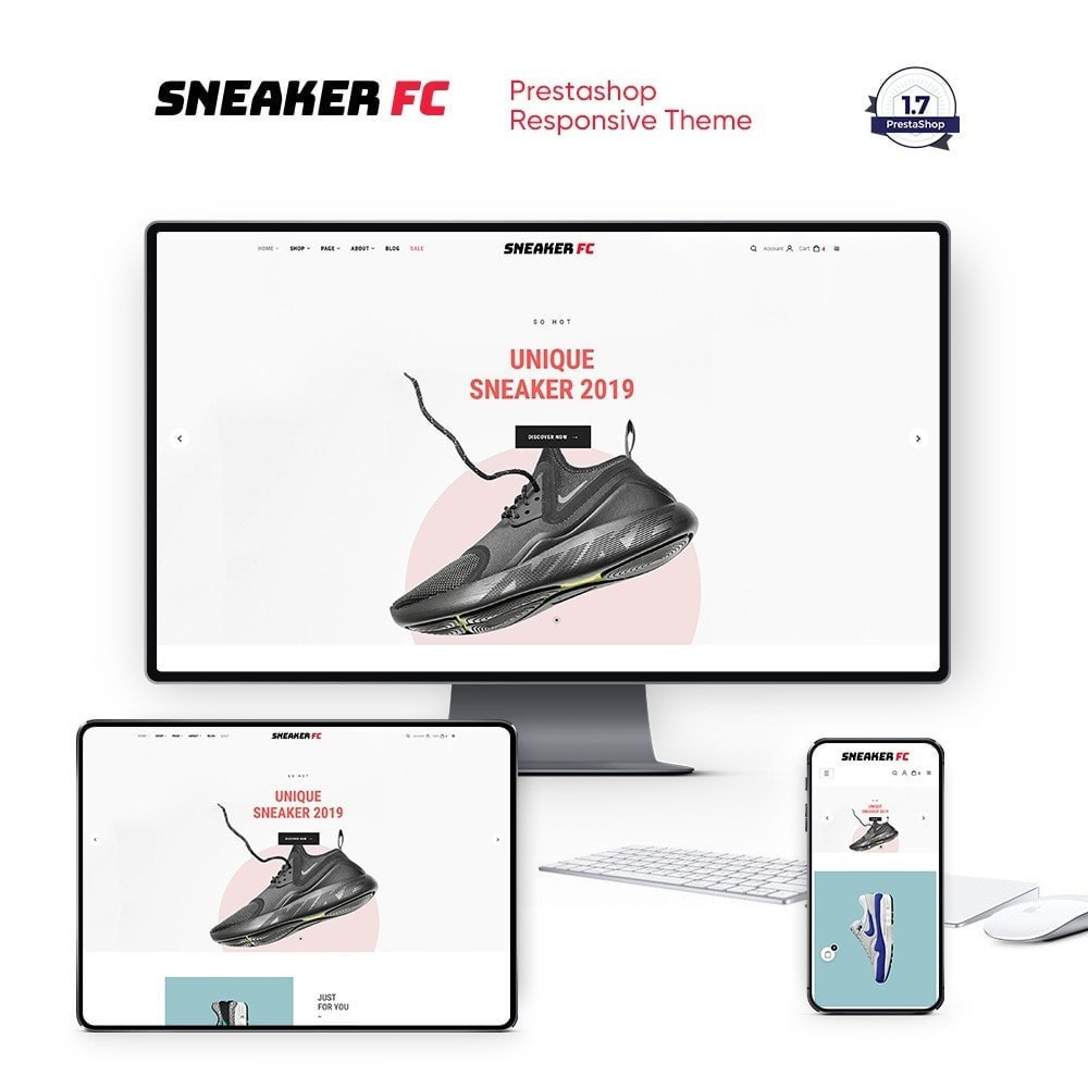theme - Moda & Obuwie - The Sneaker Shoes Store - 1