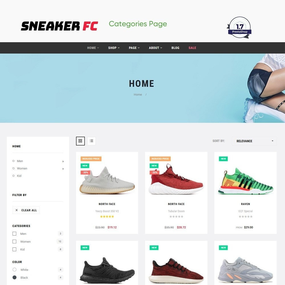 theme - Moda & Obuwie - The Sneaker Shoes Store - 3