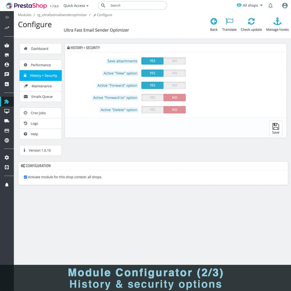 module - E-mails & Notifications - Optimiseur Ultra Rapide D'expéditeur D'email - 4