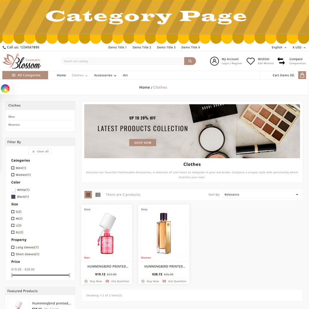 theme - Salud y Belleza - ADTemplate - Blossom Cosmetic Store - 2