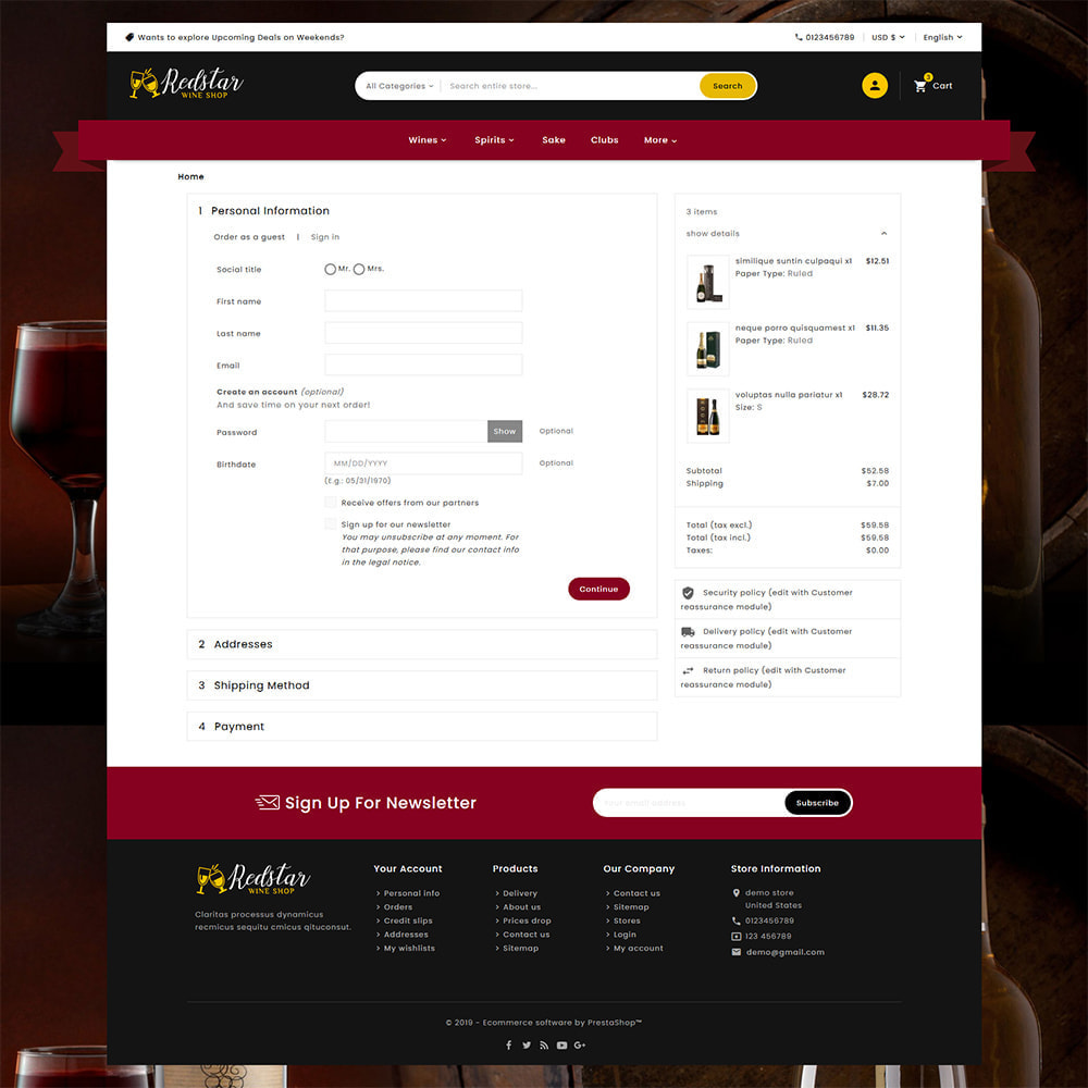theme - Drink & Tobacco - Mega Wine Store - 7