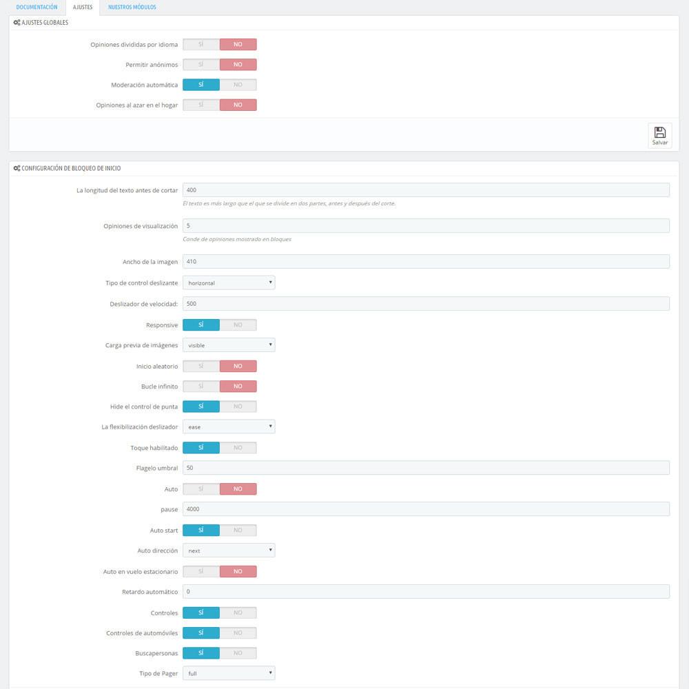 module - Comentarios de clientes - Comentarios sobre su tienda / producto - 11