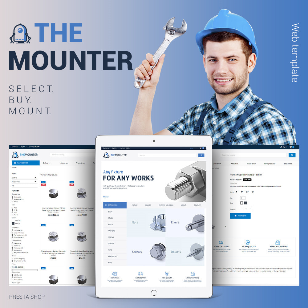 theme - Dom & Ogród - The mounter - Fastener store - 1