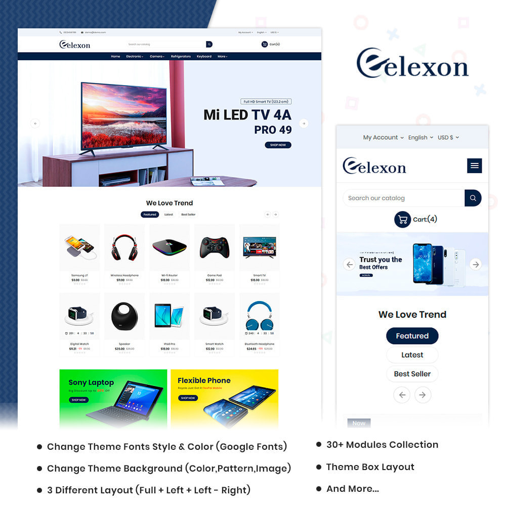 theme - Electronique & High Tech - Elexon Electronics Super Mall - 1