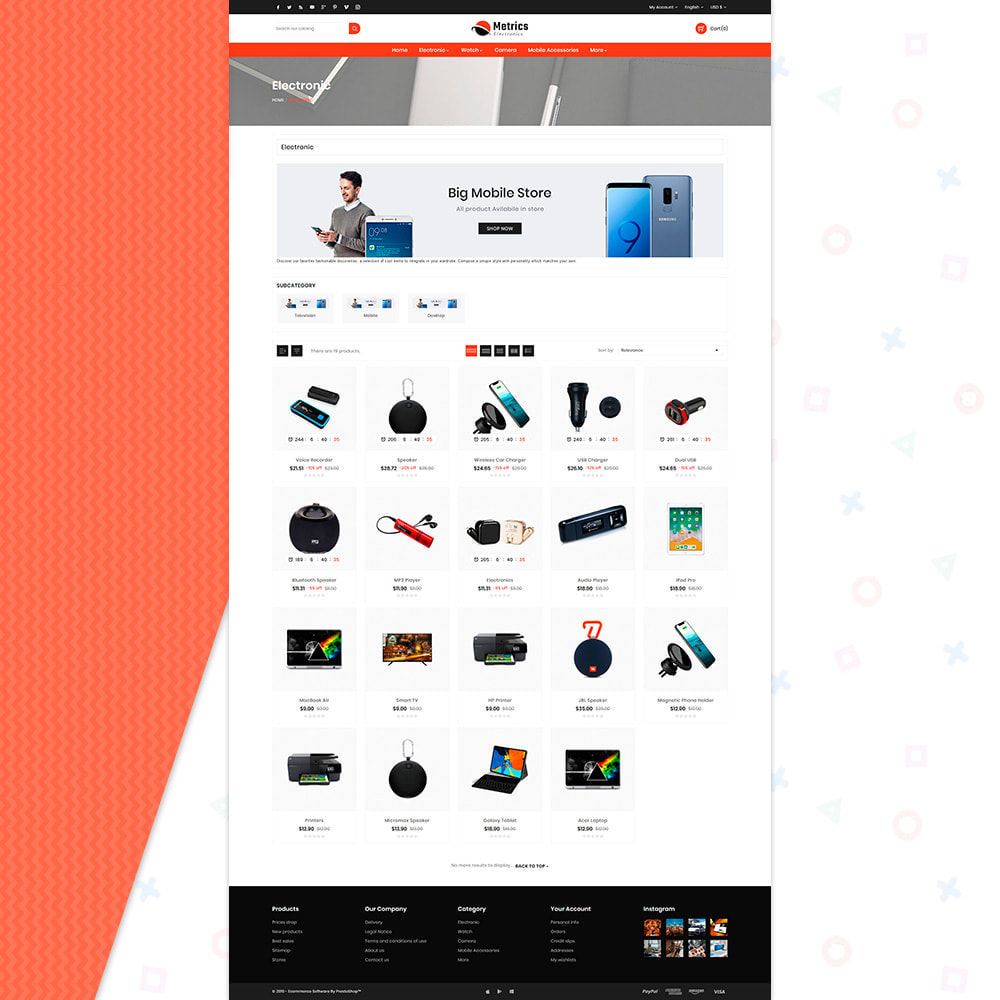 theme - Electronics & Computers - Metrix Electronics Big Mall - 3